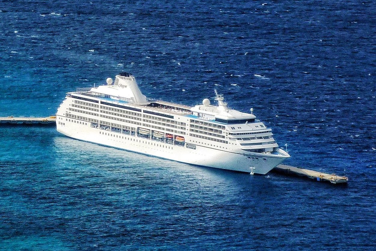 A Bird's Eye View Cruise Ship Dock Cozumel Mexico Travel Photography Travel Blue Sea Trips To Never Forget