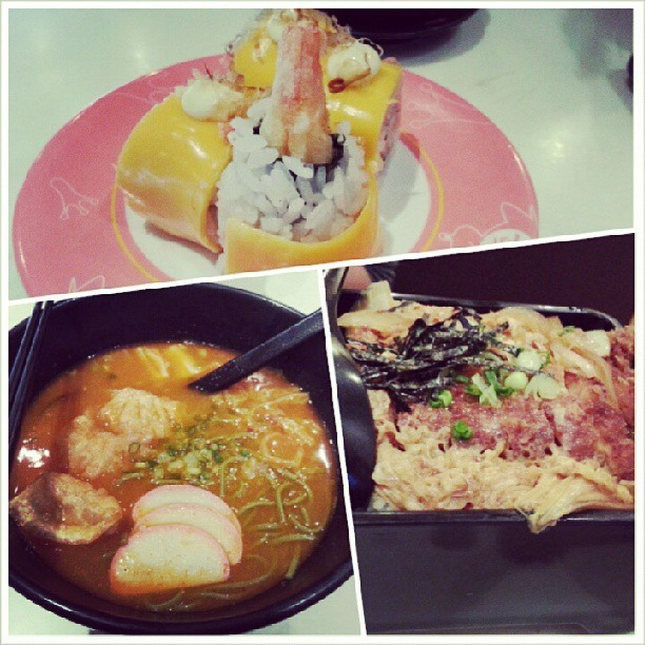 Sakae for lunch with @triciazayn ps: HAHA We really know how to spend our money LOL.Lunch Nearworkplace Sushi YumYum
