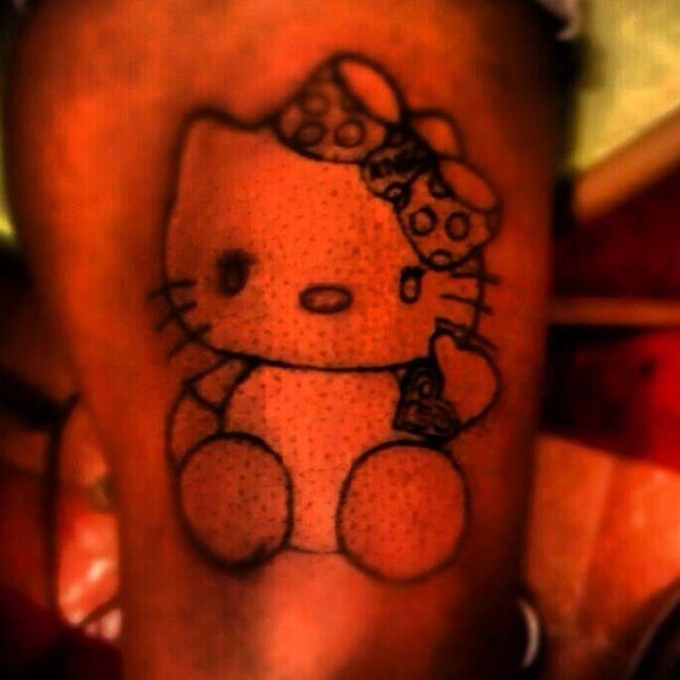 """""""Hello Kitty"""" $40 .. #PainlessInk"""