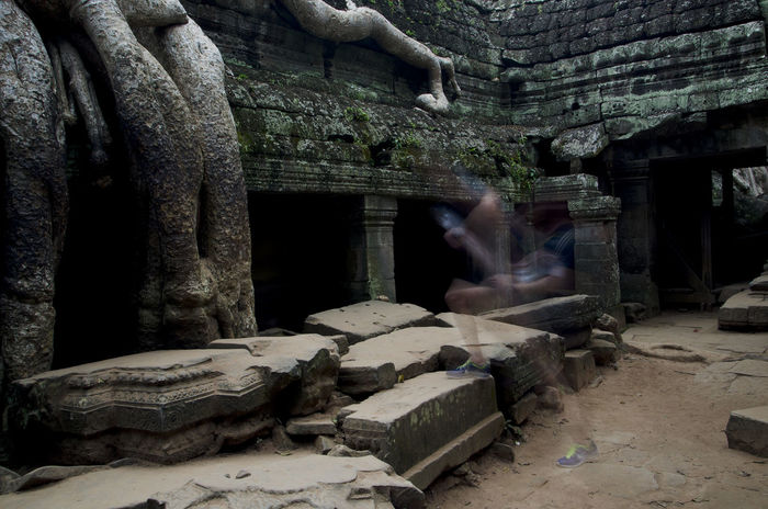 Angkor Temple Angkor Wat, Cambodia Big Three Deterioration Green Meditation Place Motion Capture Motionphotography Movement Photography Old Reflexions The Past Travel Destinations
