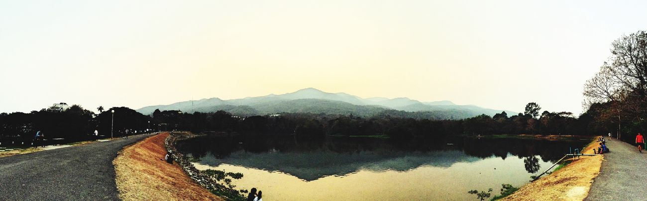 CMU Lake Sunset EyeEm Nature Lover Photo Today IPhoneography Panorama