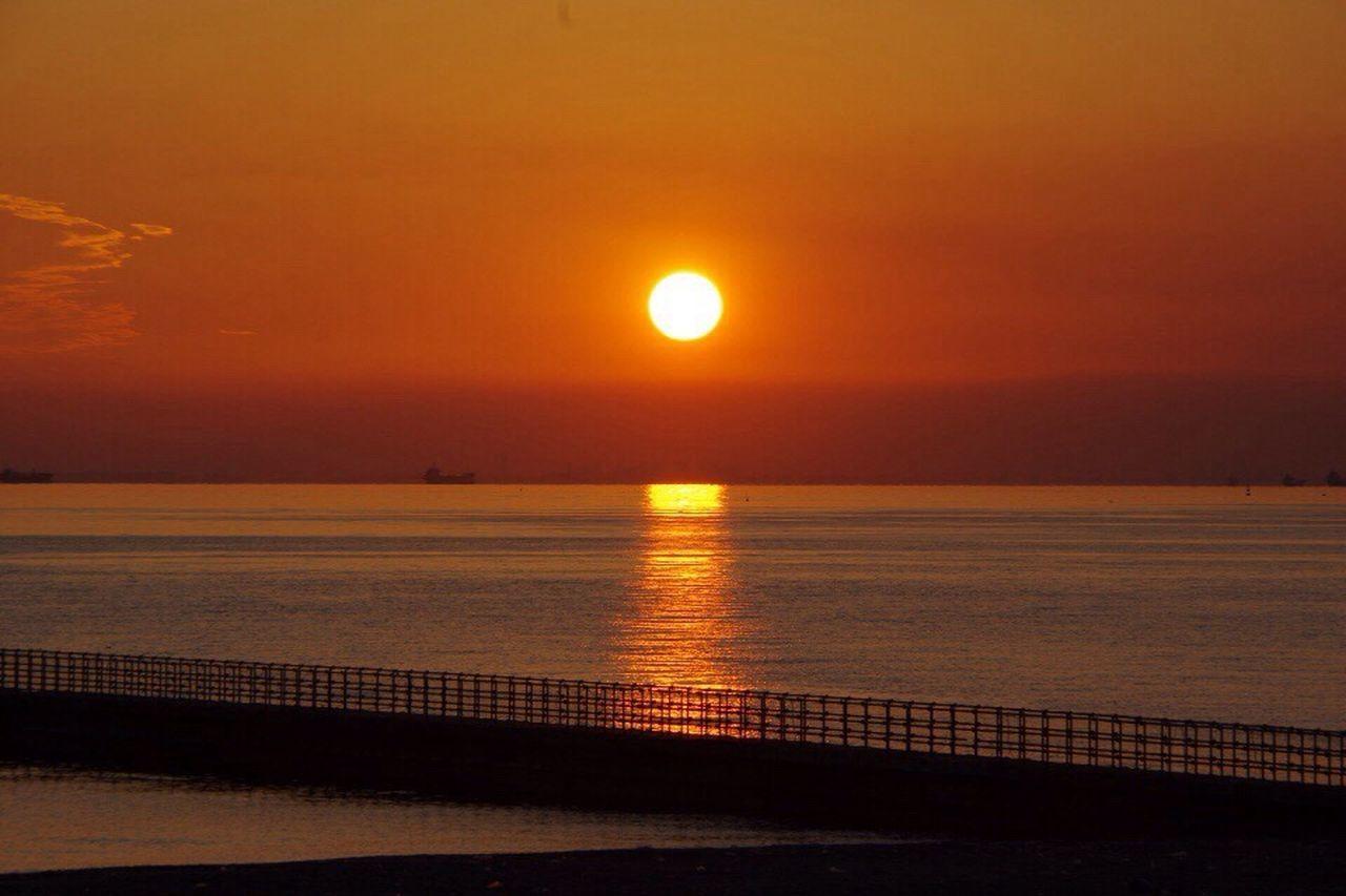 お疲れ様。 Sunset Sea 夕暮れ時 Pentax K-3 Afterglow Twilight おつかれさま
