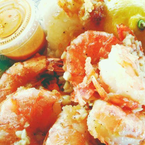 Giovanni shrimp. Colour Of Life Kahukushrimp Happy Time Foodislife Yummy♡ Awesome Onlyinhawaii 808state