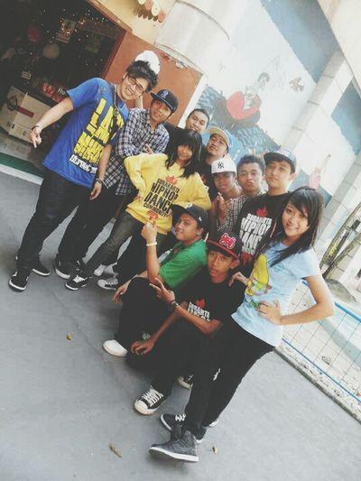 4Point Dance Crew with Last Minute Street Crew Hello World