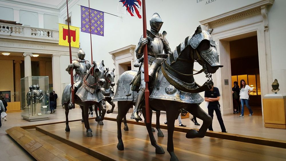 To Battle Medieval Knights Armor Middle Ages Horses Battle War