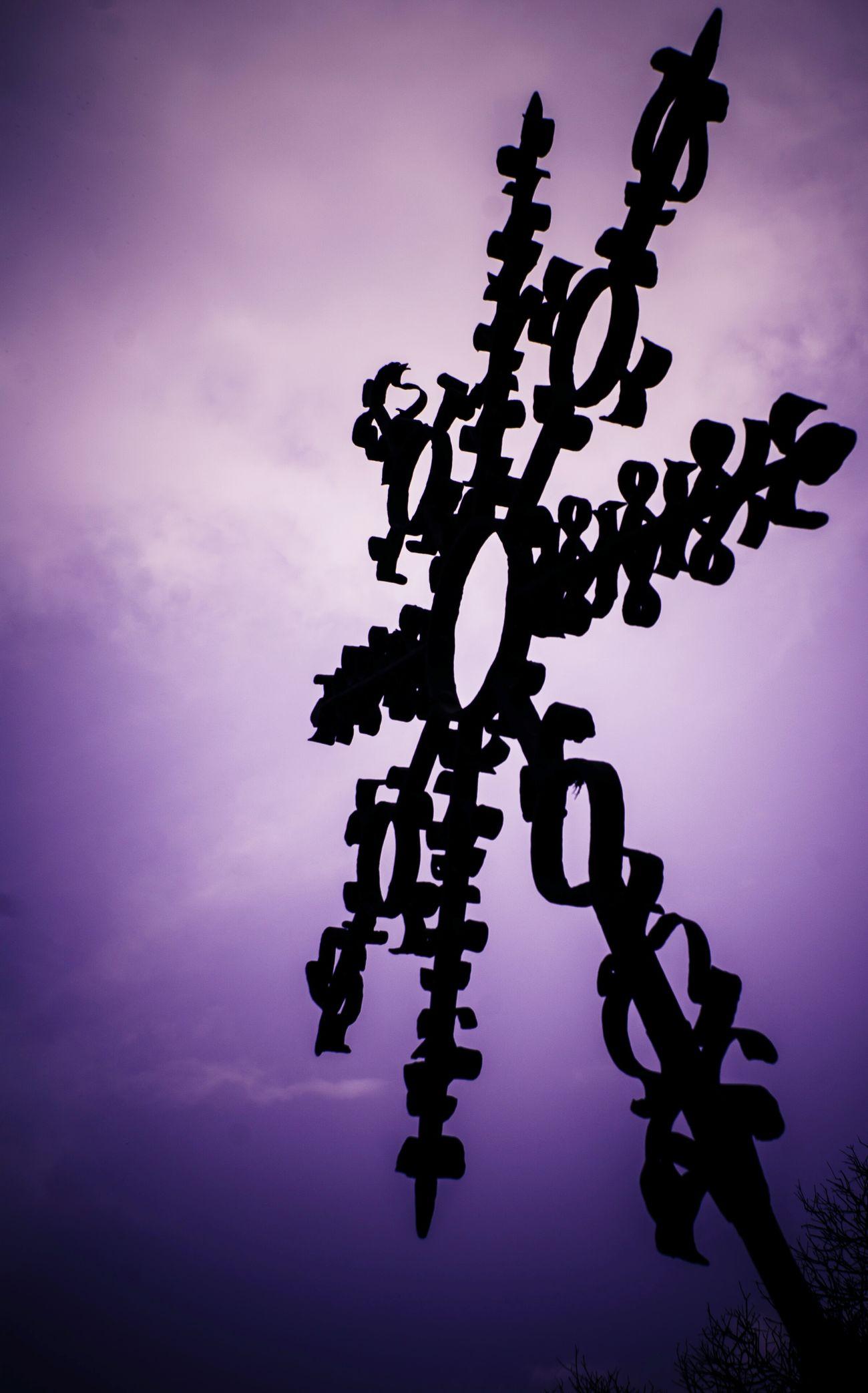Purple Sky Utopic Unicorn San Angel Mexico City Fotowalk