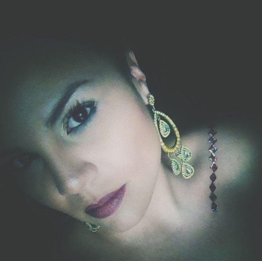 Celebration Party Time Faces Of EyeEm Woman Puertorriqueña Face Earring  Yellow Self Portrait Portrait Of A Woman
