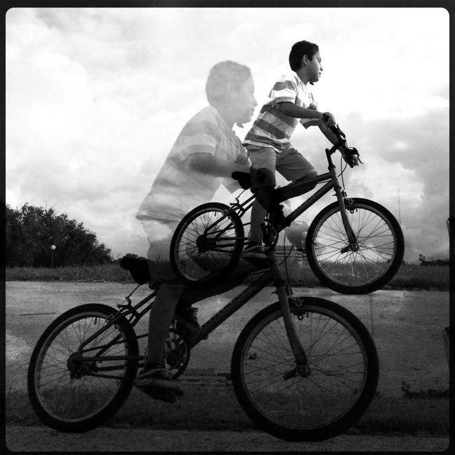 Blackandwhite IPhoneography Eye4photography  Biking