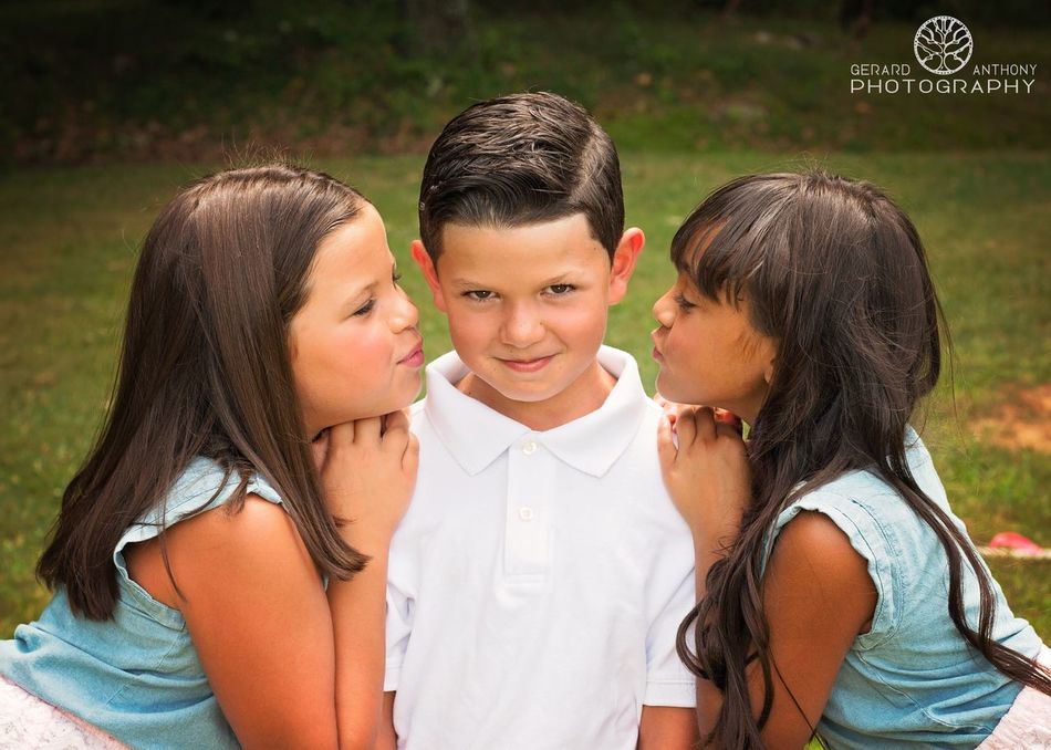 Portrait Family Children Love Siblings Brother Sister Nieces Nephew