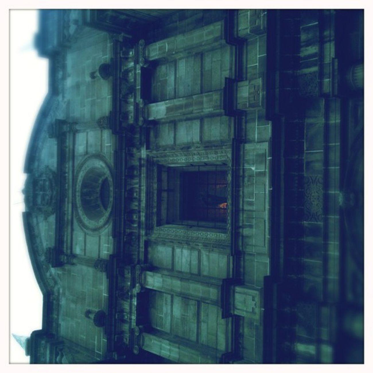 Arquitectura soñada, según una película. #Hipstamatic #Americana #Blanko Hipstamatic Americana Blanko