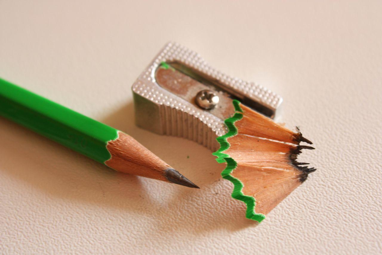 a sharp mind ~ Macro Exploration Macro Green Pencil
