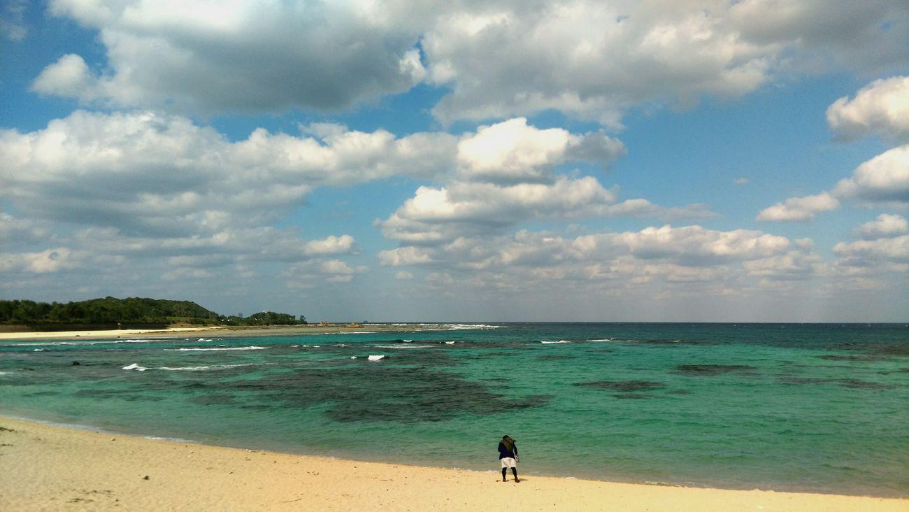Beach Sea Cloud - Sky Horizon Over Water Water Travel Destinations Coastline Water's Edge Outdoor Pursuit Outdoors Sand Storm Cloud Scenics Wave People Swimming Sky