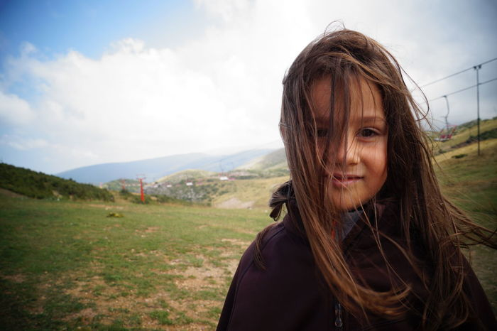 Backgrounds Beautiful Grass Summerday Outdoors Girl Kidsphotography Kid in Mavrovo Macedonia