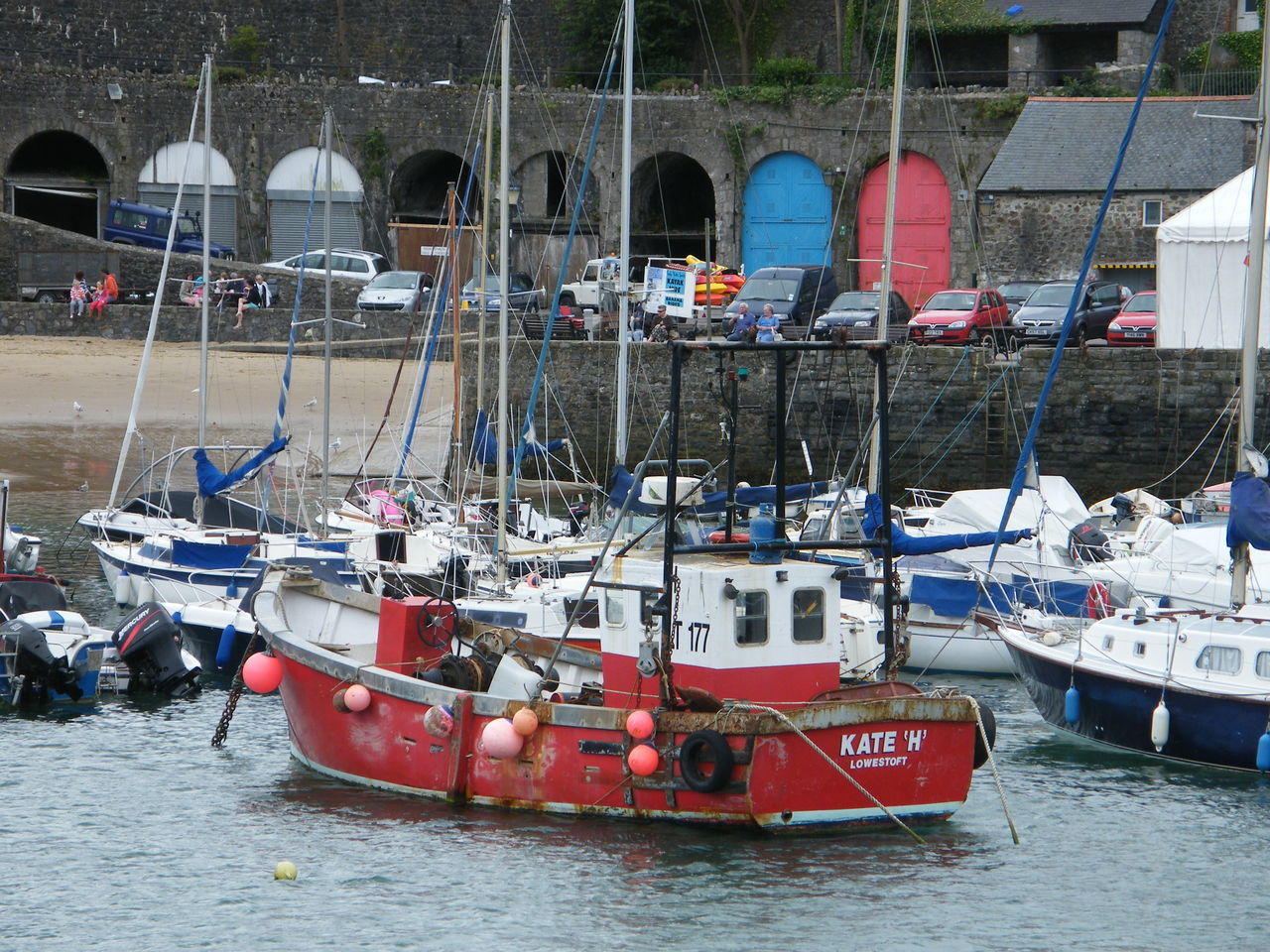 Architecture Building Exterior Day Harbor Mode Of Transport Moored Nautical Vessel No People Outdoors Pembrokeshire Pembrokeshire Coast Pembrokeshire Coastal Path Seaside Seaside Town Tenby Tenby Harbour Transportation Travel Destinations Water