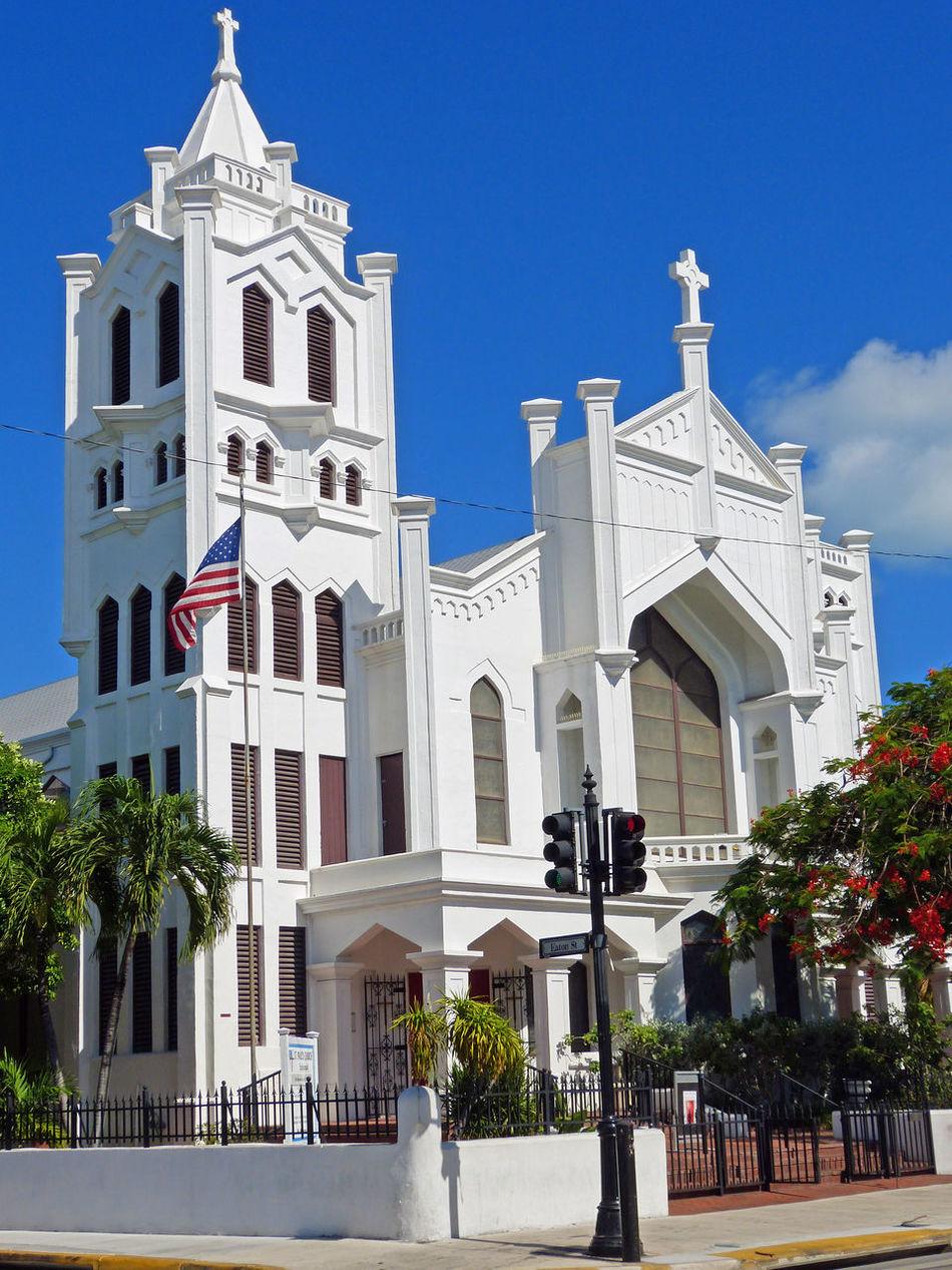 Church Churches Churches Of Florida Churchesoftheworld Eaton Street Florida Key West Streets Of Key West