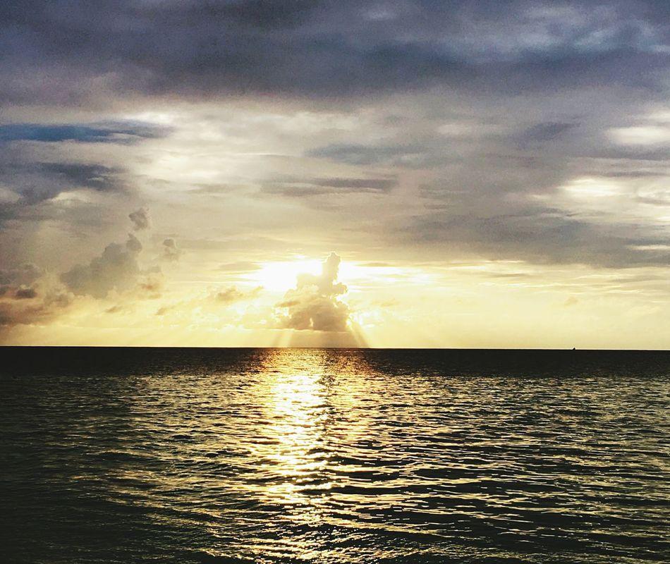 Sunset in Maldives First Eyeem Photo