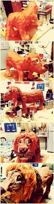 Akhirnya berjaya jugak siapkan projek. This is my 'Bby lion'. Mana datangnya kamu.? Hahaha..in mind. I will miss you. MINI ZOO I'M COMING. Tq for a.syafiq n my beloved nas. Jeng jeng jeng. Bye Taking Photos Learning