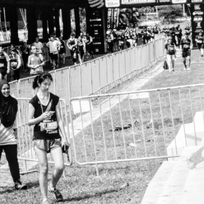 Runners Rail Corridor Run 31 January 2016 Tanjong Pagar Railway Station 3 May 1932 - 1 July 2011 Streetphotography Eyeemcollection Eyeemphotography EyeEm Gallery Eyeem Streetphotography Bnw Bnw_streetphotography Bnw_captures Bnw_society Bnw_worldwide Bnw_planet Bnw_life Bnwphotography Bnwcollection