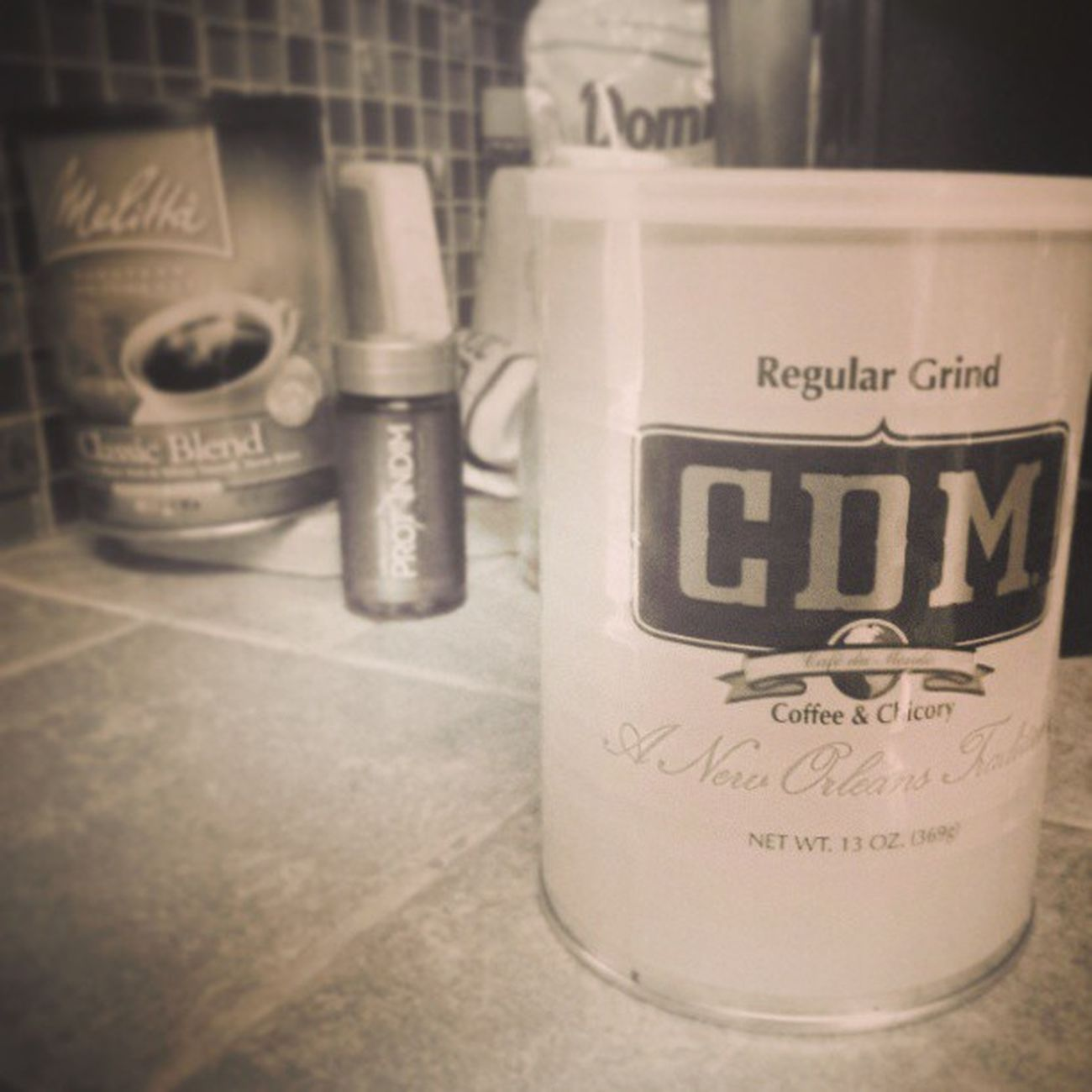 I think I buy a different kind of coffee every time I run out. CDM Cafedumonde Neworleans Coffeeandchicory