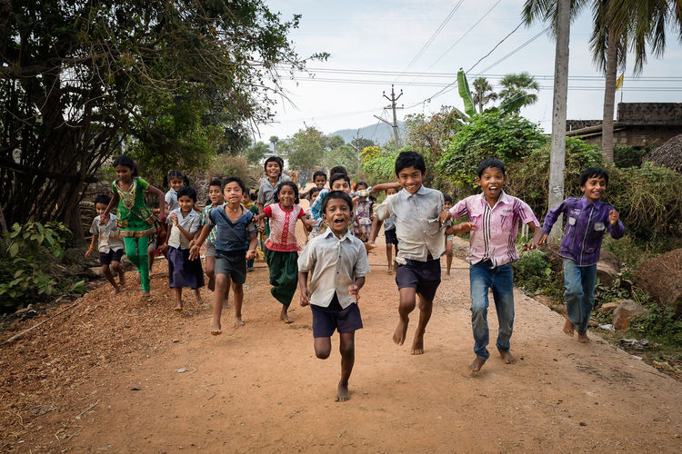 Kids playing in a village near Vijayawada India. Indian People Incredible India India People Photography Travel Kids Enjoying Life