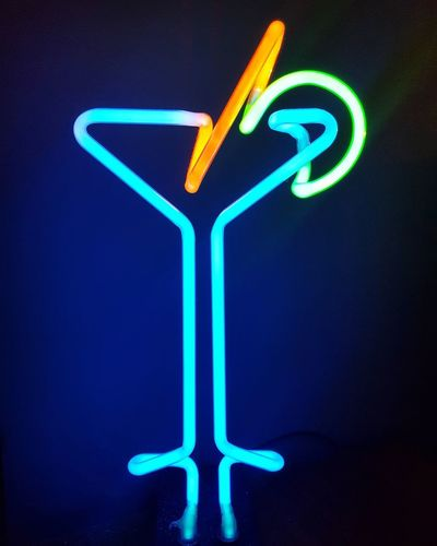 🍹 No People Neon Illuminated Close-up Day Fun City Lifestyles Togetherness Night Music Nightlife Event Tranquility EyeEm Best Shots Leisure Activity Wine Not Crowd Enjoyment Arts Culture And Entertainment Neon Life