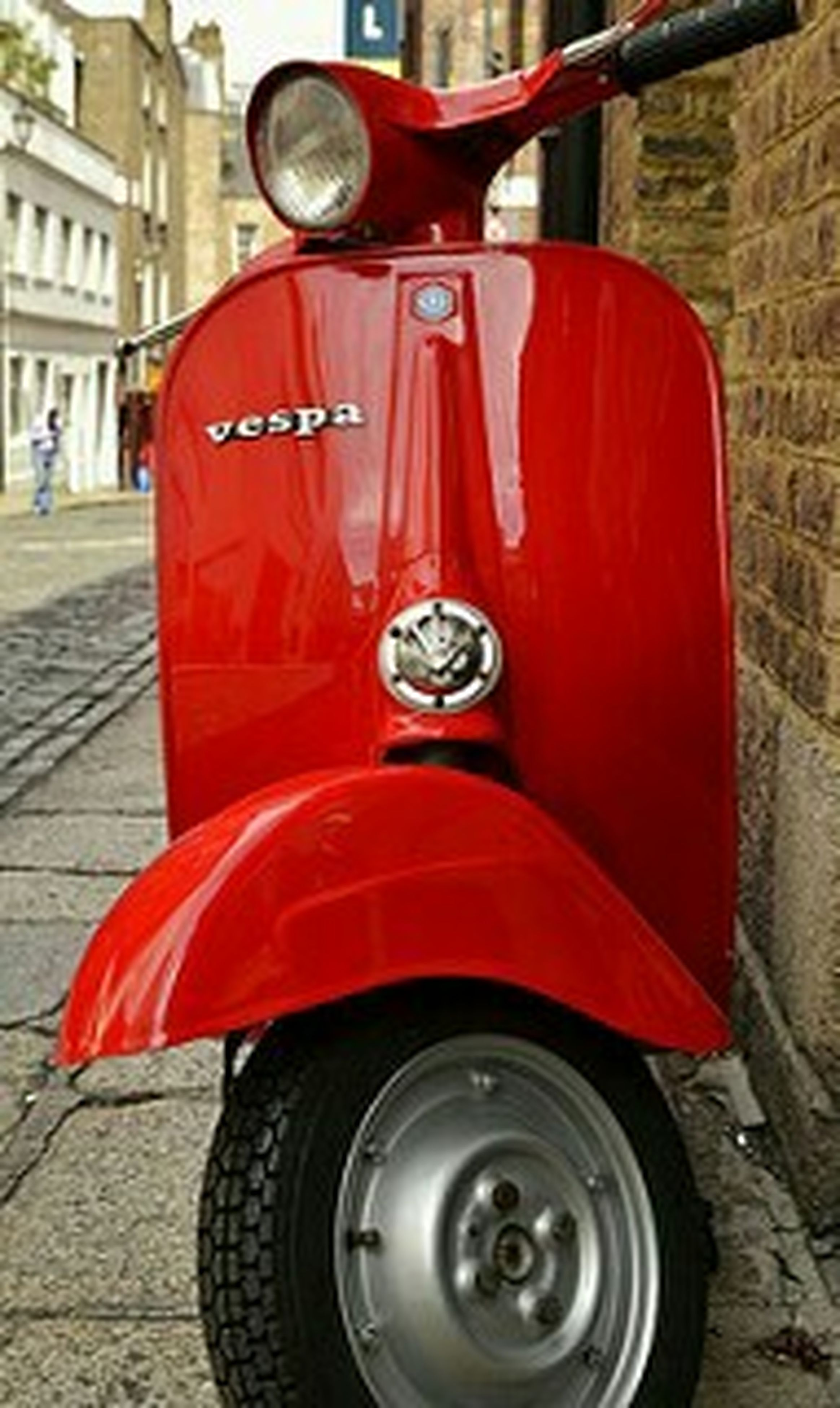 red, transportation, land vehicle, mode of transport, close-up, car, focus on foreground, old-fashioned, street, day, wheel, headlight, metal, outdoors, retro styled, stationary, no people, building exterior, protection, vintage car