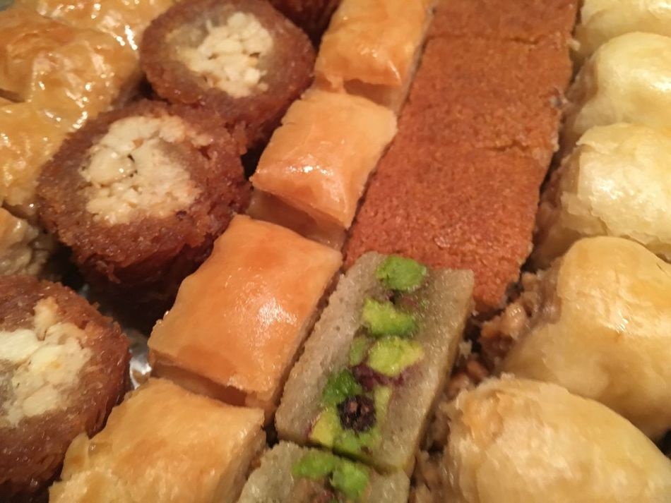 Sweet Sweet Dreams Calories Very Good Full Frame Golden Hour Food Indoors  Freshness Close-up Indulgence In A Row Ready-to-eat Temptation Order Arrangement No People Main Course Serving Size Appetizer Large Group Of Objects Oriental Sweets Oriental Sweets Libanon