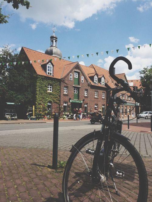 Bike. Hanging Out Enjoying Life NRW Nordkirchen