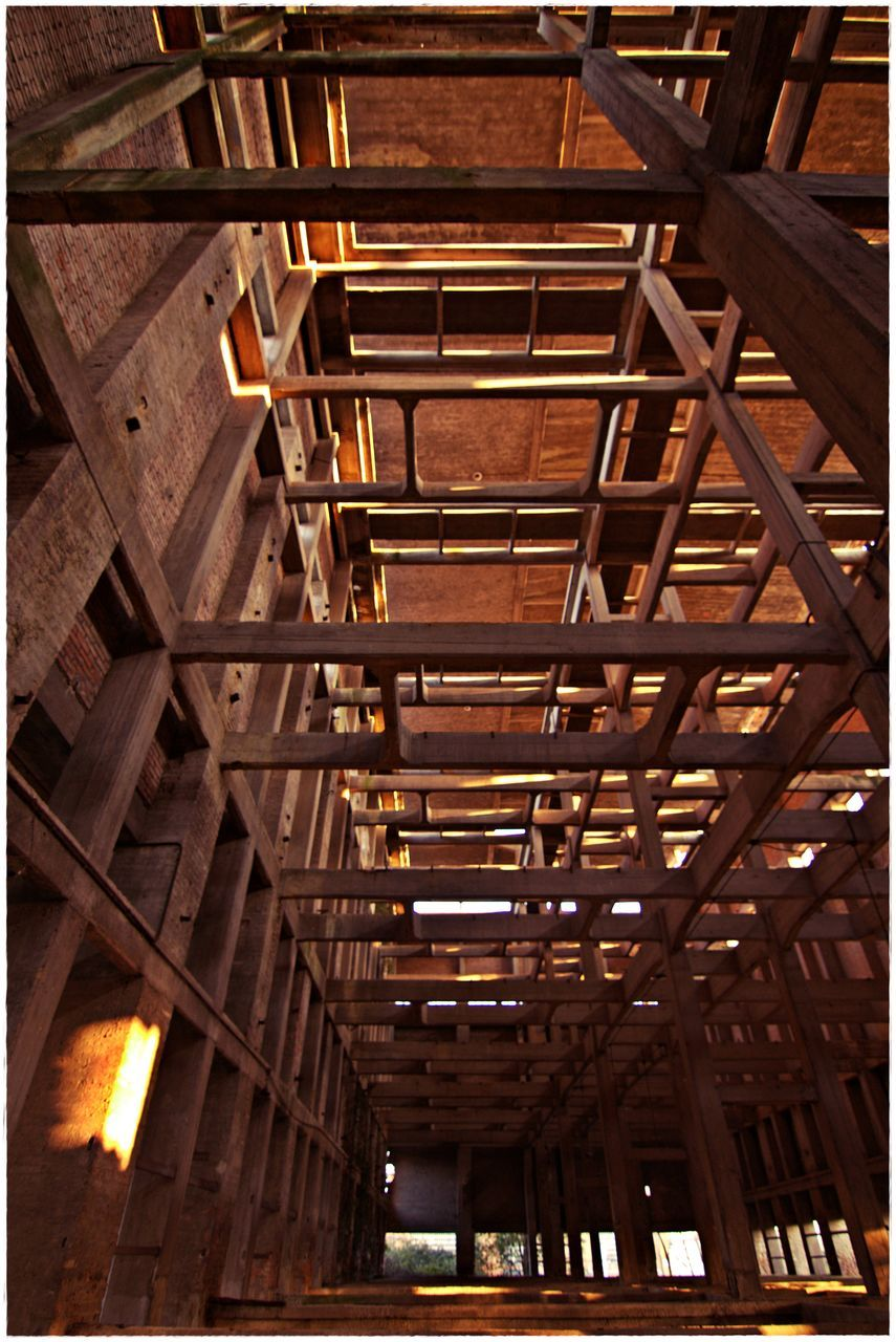 Interior Of Abandoned Industrial Building