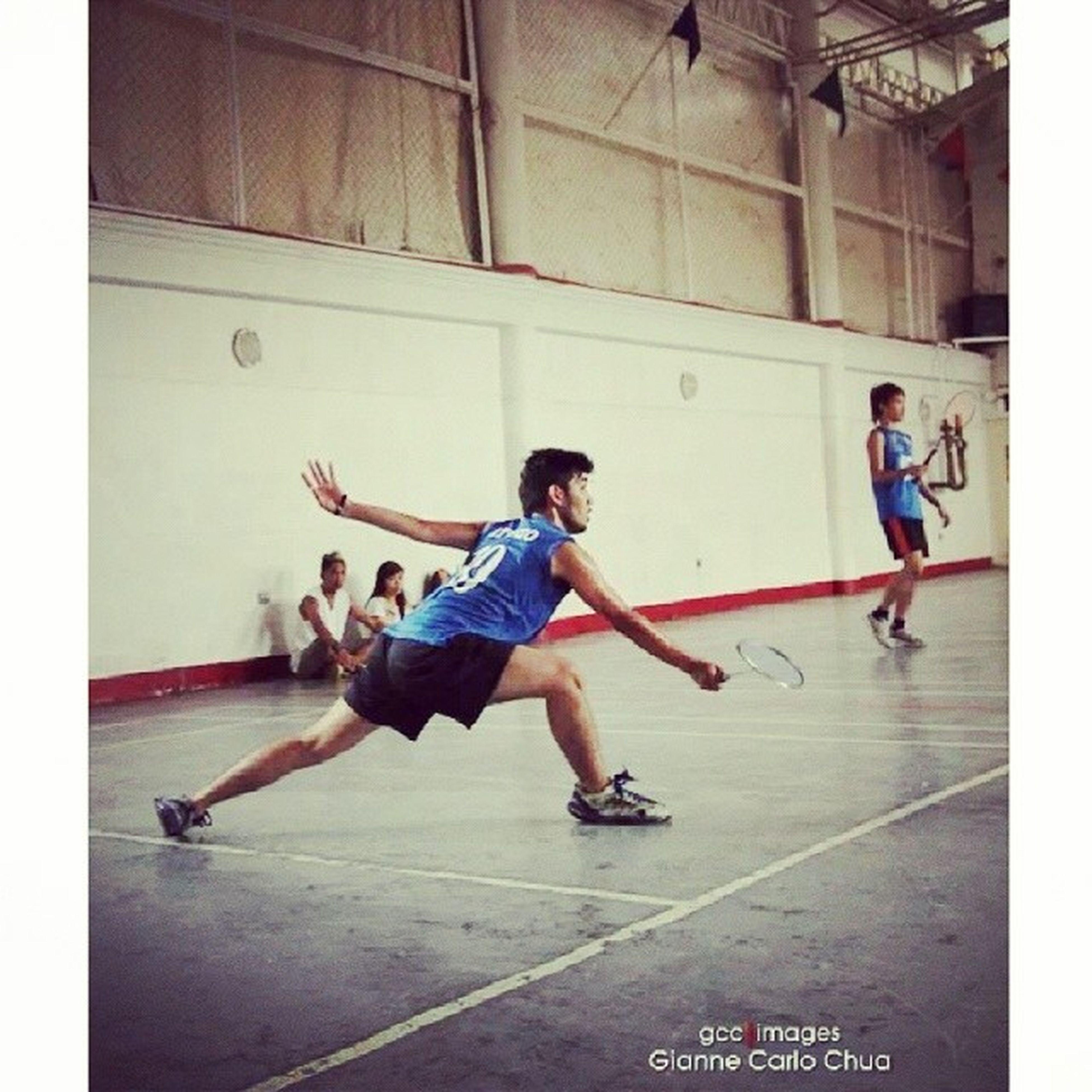Sobrang nakakamiss maglaro ng badminton! Sino free this Saturday? Laro tayo!!! :D Varsity  Sports Passion