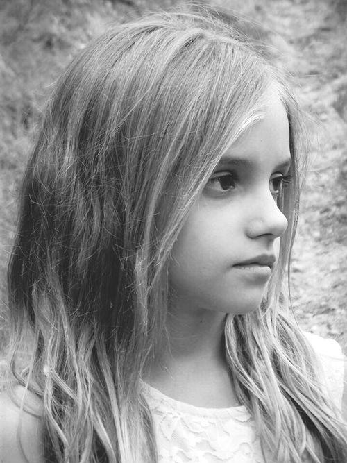 Black & White Shooting Petite Soeur La Mieux