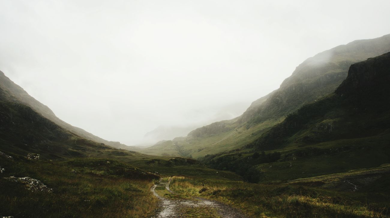 Highlands of Scotland / Where landscapes change every second Landscape Tranquility Solitude Foggy Outdoors Scotlandlover Beauty In Nature Fog Valley Traveling Mountain View Escape Neverstopexploring  Autumn