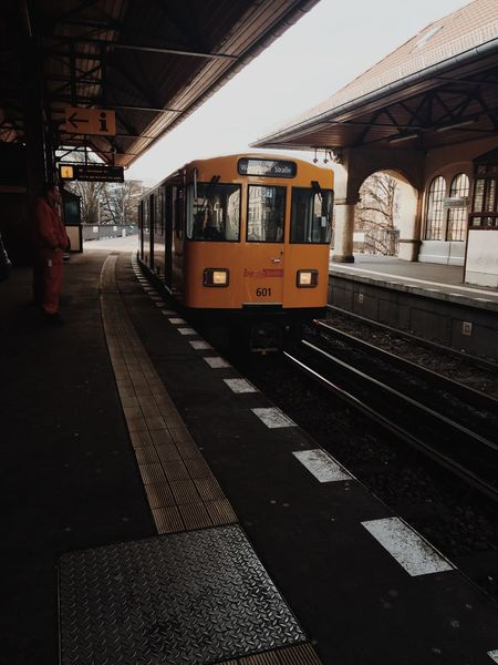 Berlin Bvg BVG - Berliner Verkehrsgesellschaft City Life Mode Of Transport On The Move Passenger Train Public Transport Public Transportation Rail Transportation Railroad Station Railroad Station Platform Railroad Track Speed Train Tramway Transportation Travel Ubahn Vscocam Weilwirdichlieben