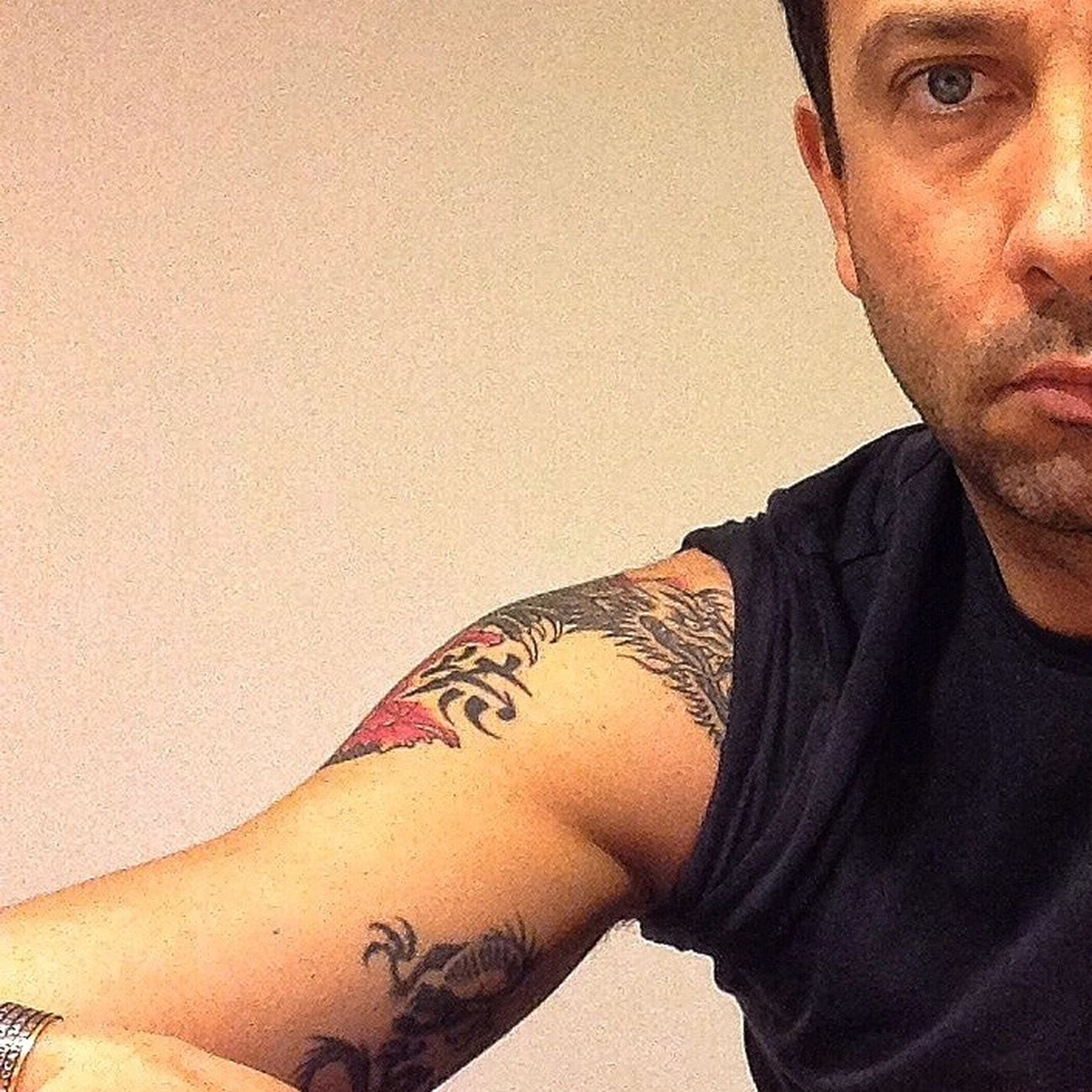 EyeEm Best Selfie's  Your Skin Makes Me Cray  Show Me Your Face .... Tattooes
