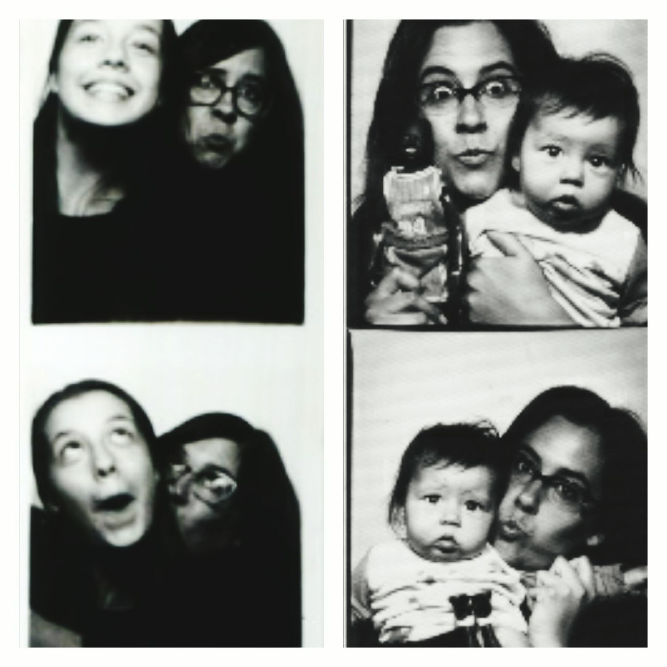 cute then, cuter now My Mom And I Throwback That's Me! Cheese! Photobooth