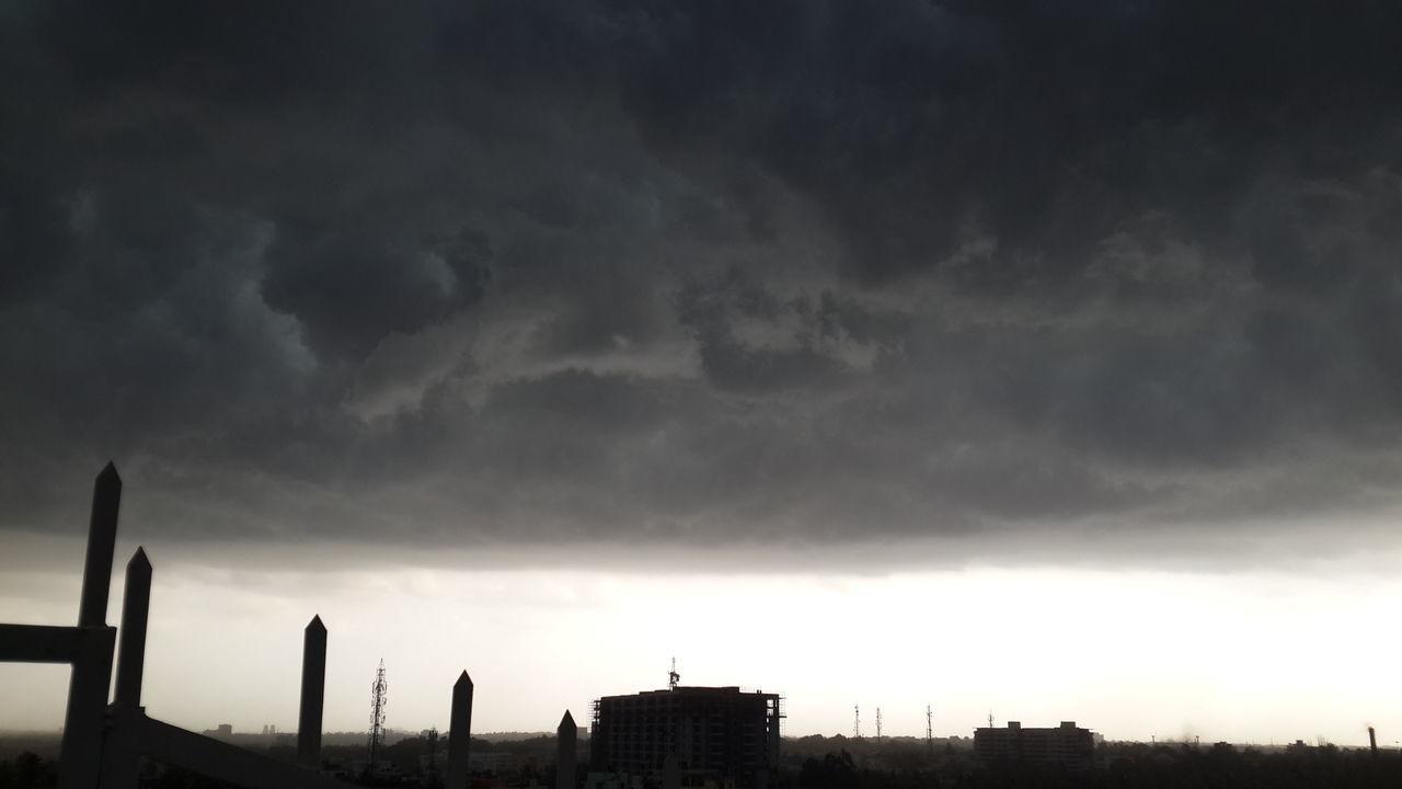 Turmoil Weather Bangalore Clouds