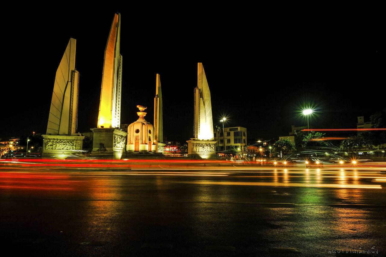 Architecture City Illuminated Light Effect Long Exposure Night Outdoors Travel Destinations