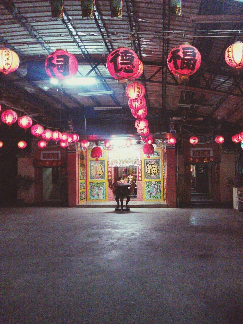 Taiwan 屏東 土地公廟 Night 臺灣