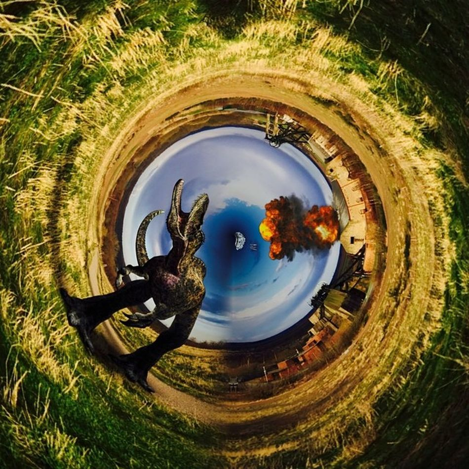 Tinyplanet Tinyplanets LensFx K8marieuk BrainFeverMedia Pleasley Pleasleypit Wormhole Photo365 Photogeeks