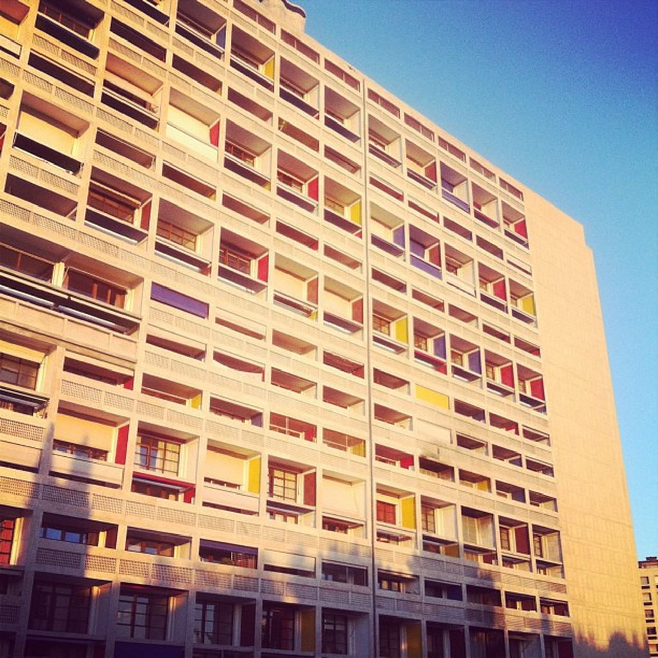 La Cité Radieuse by Le Corbusier, a residential building by one of the most important architects of the 20th century