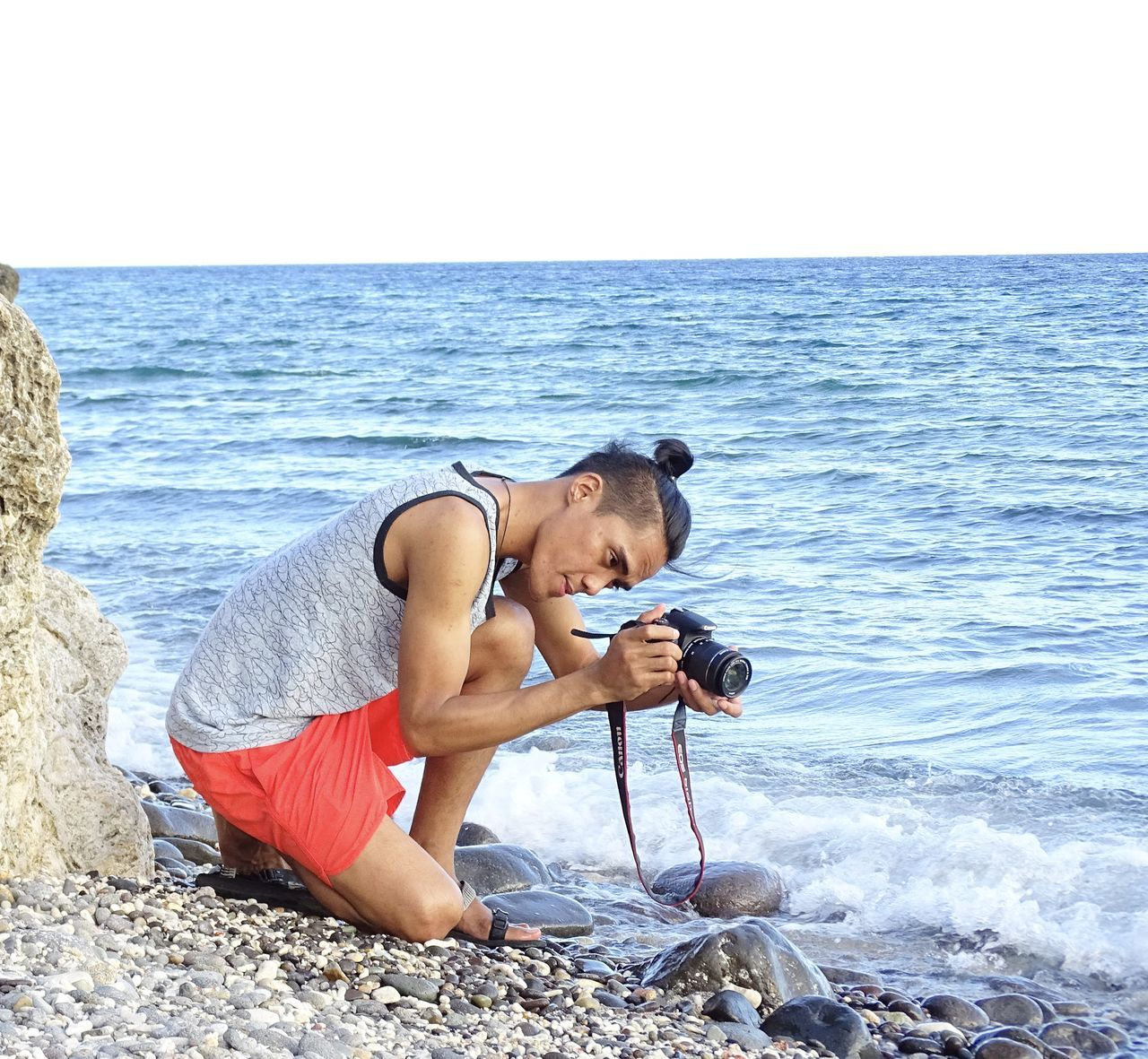 the photographer Asian  Batangas Beach Life Here Belongs To Me Lifestyles Malabrigo  Man Nature Outdoor Photography Philippines Relaxation Showcase April