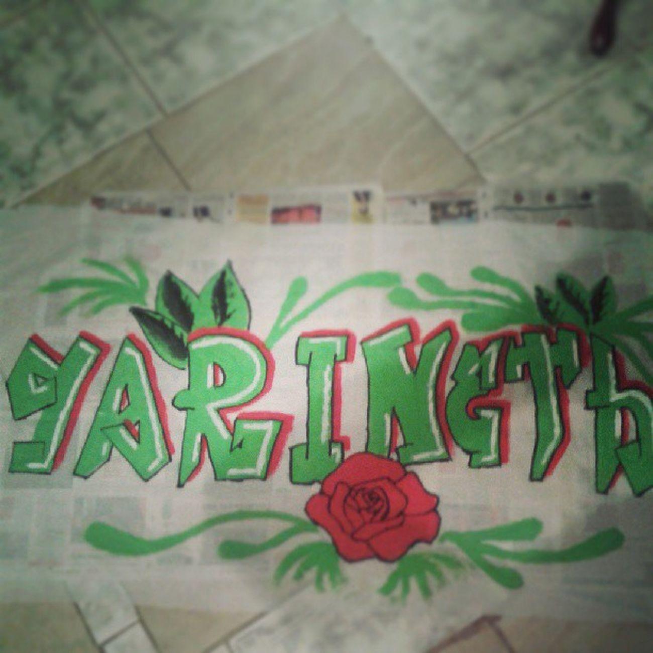 Bandera o creo q portada... Paint Yari Green Red rose flow like4like instamoment follow4follow follow follownow