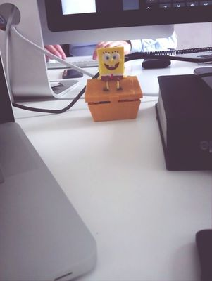 spongebob at EyeEm HQ by Victor Mark