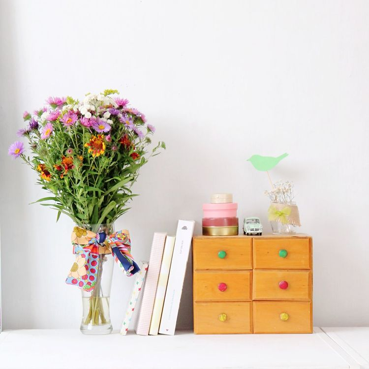 Flowers Vase Of Flowers Still Life Flowers Decoration Multi Colored White Focus On Foreground Flowers On Table Fragility Freshness Close-up Flower Collection Flowers In A Vase White Background Flower