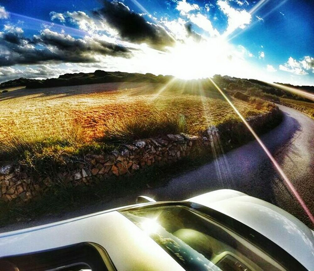 Good morning and happy saturday! Good Morning Saturday Weekend Activities Sun Car Transportation Travel Windshield Sunlight Car Interior Road Vehicle Interior Mode Of Transport Land Vehicle Driving Luxury Journey Cloud - Sky Sunbeam Sky No People Day Landscape Nature First Eyeem Photo
