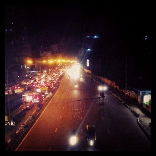 city lights City Lights Streetphotography Dhakagraam overbridge