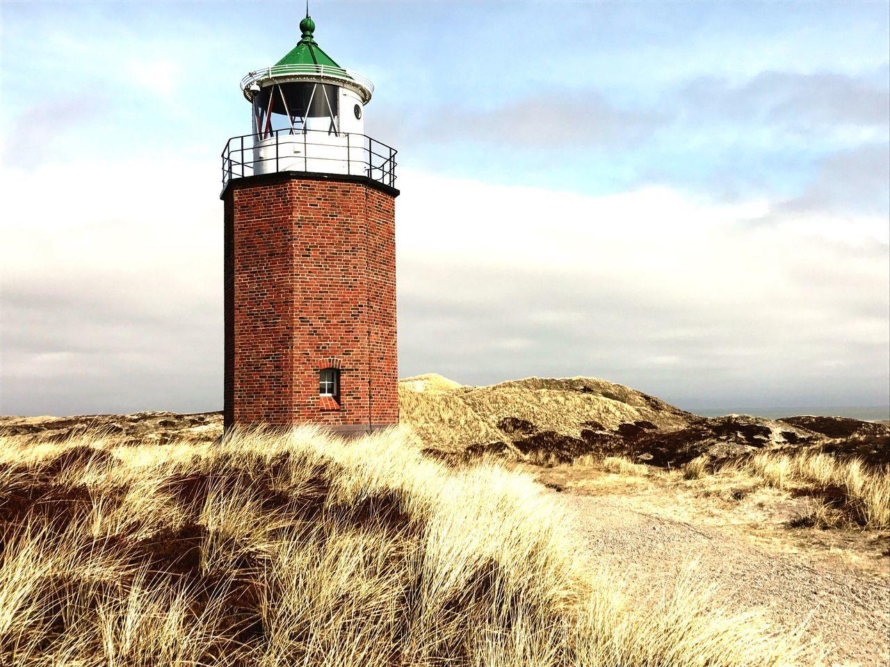Sylt Quermarkenfeuer LEUCHTTURM Outdoors Sea Lighthouse Architecture