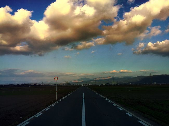 Clouds And Sky Road IPhoneography Streetphotography Check This Out Nature Landscape
