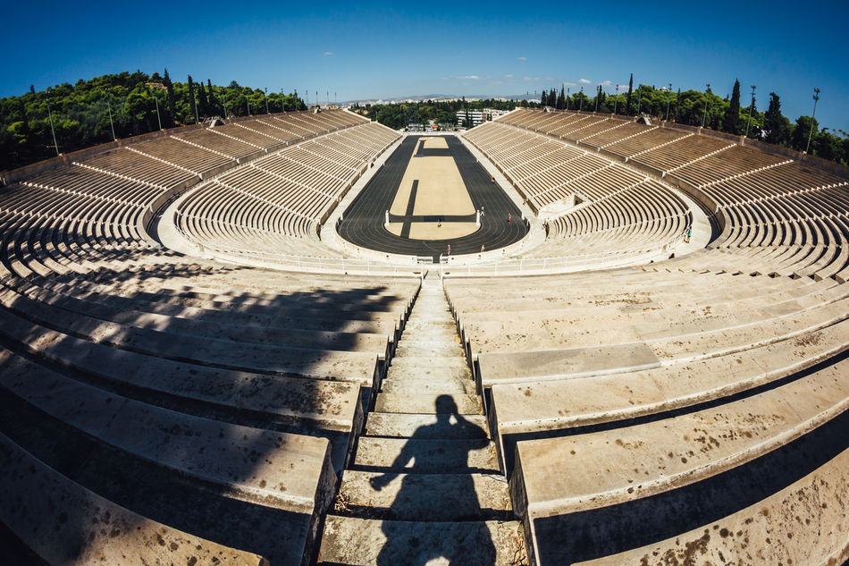 Beautiful stock photos of greece, Absence, Clear Sky, Curved, Day