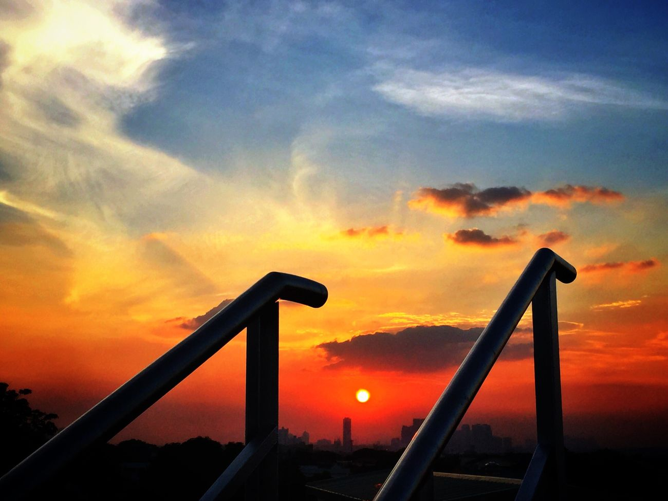 Every step I take, leads to you... Sunset Sunset_collection Clouds And Sky Clouds EyeEm Best Shots EyeEm Nature Lover EyeEmBestPics Eyeem Philippines Eye4photography  EyeEm Gallery